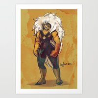 Jasper Art Print