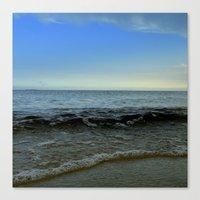 Canvas Print featuring beach by Daniel Clifford