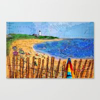 Summer Down The Cape Canvas Print