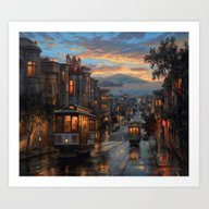 San FRan.cisco Dream Art Print