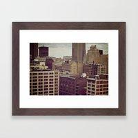 Scrap City Framed Art Print