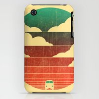 iPhone 3Gs & iPhone 3G Cases featuring Go West by Budi Kwan