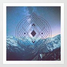 Sacred Geometry Universe 7 Art Print