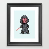 Plush Maul Framed Art Print