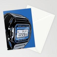 Casio F-105 Digital Watch Stationery Cards