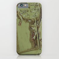 iPhone & iPod Case featuring Zombies in the Hall by Shou Yuan
