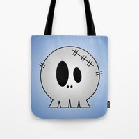 Dead Little Skull Tote Bag
