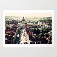 Gdansk, Poland Art Print