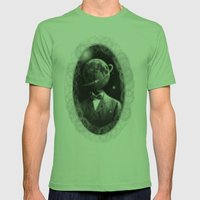 THE PLANET HEAD Mens Fitted Tee Grass SMALL