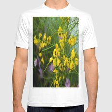 desert flowers Mens Fitted Tee White SMALL