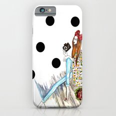 Dots & bow iPhone 6 Slim Case