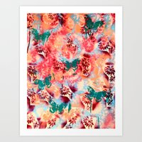 Rose Kathryn Louise Quartz  Art Print