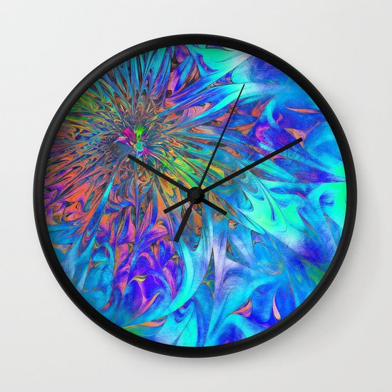Petal Fall Wall Clock