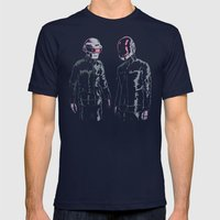 The Robots Mens Fitted Tee Navy SMALL