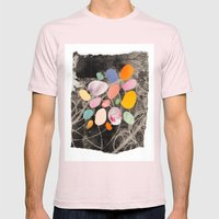 pebbles Mens Fitted Tee Light Pink SMALL