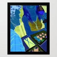 SUSHI Art Print