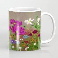 Spring Wild flowers  Mug