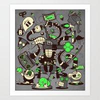 Capers, Schemes, Plans, … Art Print