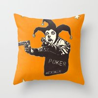 Pussy Power World Games Inc. Throw Pillow