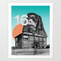 Sixteen Art Print