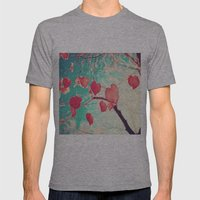 Our Hearts Are Autumn Le… Mens Fitted Tee Athletic Grey SMALL