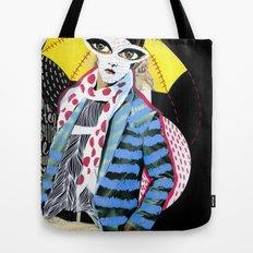 ::Man in the Rain:: Tote Bag