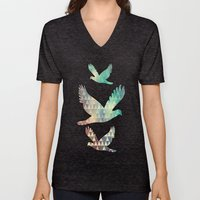 Tribal Fade Unisex V-Neck