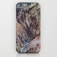 iPhone & iPod Case featuring Yellowstone Falls by Leah Flores