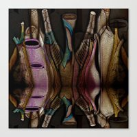 Abstract Jugs Canvas Print