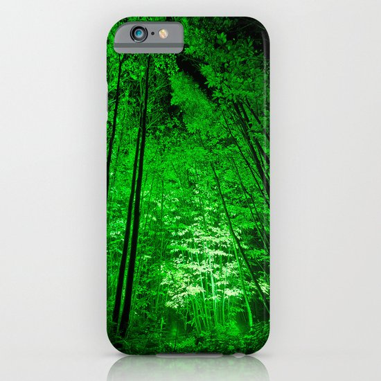 Electric Forest Green iPhone & iPod Case