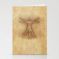 Iruvian Man Stationery Cards