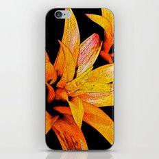 Yellow Bloom iPhone & iPod Skin