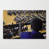 Graduation Motivation Canvas Print