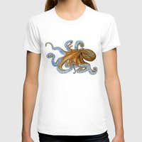 octopus T-shirts featuring Octopus by Tim Jeffs Art