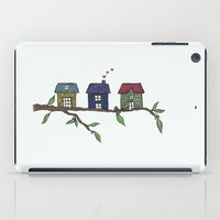Treehouses iPad Case