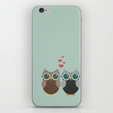 OWL LOVE YOU FOREVER iPhone & iPod Skin