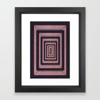 The Door to the Other... Framed Art Print
