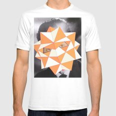 Stratos Mens Fitted Tee White SMALL