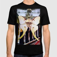 CATACOMBS Mens Fitted Tee Black SMALL