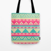 Tropical Tribal Tote Bag