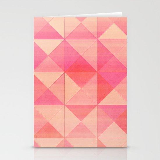 Pink : Pattern Stationery Card