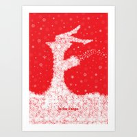 F Is For Fargo Art Print