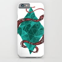iPhone & iPod Case featuring Mystic Crystal by Hector Mansilla