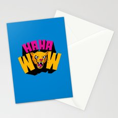 HAHA WOW COUGAR Stationery Cards