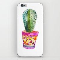 Cactus Watercolour iPhone & iPod Skin