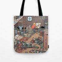 Artist in the Attic Tote Bag