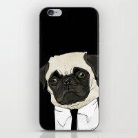 puggetaboutit iPhone & iPod Skin