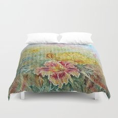 Painterly Floral Duvet Cover