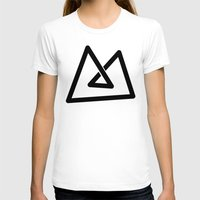 M like M Womens Fitted Tee White SMALL