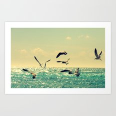 bright day Art Print